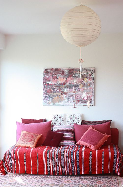 decorar en rojo