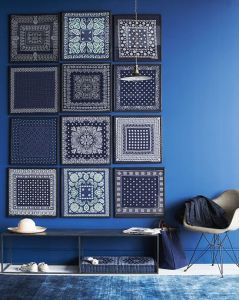 deco in blue