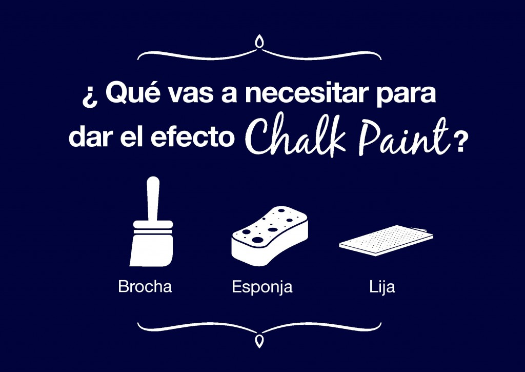 Cómo crear el Efecto Chalk Paint con Kilate Acritec