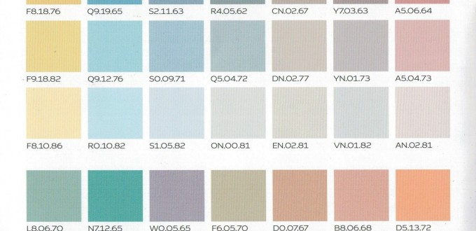 CARTA SERENITY COLORS